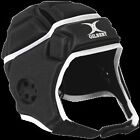 Gilbert Attack Black Rugby Headguard- SB, MB, LB, S, M, L Available
