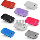 Gel Silicone TPU Rubber Case Cover for Samsung Galaxy Core,GT- i8260 + LCD Film