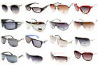 D965-vp NEW DG EYEWEAR RIMLESS TURBO AVIATOR SHIELD FASHION SUNGLASSES +POUCH