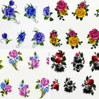 3D Nail Art Stickers Decals For Nail Tips Supplies Decoration Rose Flower Design