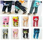 Cotton Bottoms Leggings Tights Pants for Baby Toddler Kids Boys Girls 6-36Month