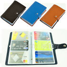 HQ Synthetic Leather Business Name ID Credit Card Holder Wallet Office Organiser