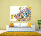 Pokemon Pikachu Giant Poster , Various Sizes from A3 up to 49.6 '' x 35 ''.
