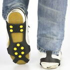 Extra Large . SHOE GRIPPERS.. Safety Non Slip.. Icey Snow Walk Road pair set kit