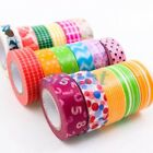 New Design Washi Tape DIY Decor Sticky Adhesive Scrapbooking Collection 15mm