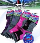 1-4Pairs Slazenger COOLMAX womens Hiking/Climbing/Golf/Outdoor Sports Socks