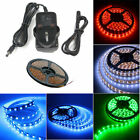 Full Kit 5M 300 LED Adhesive DIY Dimmerable Ribbon Tape Rope Under Kitchen Board