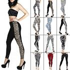 New Ladies Womens Full length Sexy leggings Pants Trousers Plus Size M L XL XXL