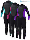 Odyssey 3mm Wetsuit Ladies Women's Wet Suit Full Steamer Titanium Swim Surf XS-L