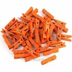 Wholesale Lots Of 100pcs Wooden Clothespins Wood Clothes Pins Spring Clamp Hook