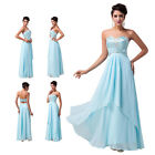New Formal Long Wedding Evening Ball Gown Party Prom Bridesmaid Graduation Dress