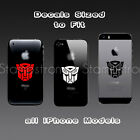 Transformers Autobot Iphone Sized Vinyl Decal Sticker Die Cut Jdm Apple