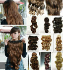 New ! One Piece Beautiful Long 50-60cm Wavy Hair Extension Clip-in 9 Colors More