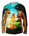 "Yizzam - Botticelli - ""The Birth of Venus""-  New Mens Long Sleeve Shirt"