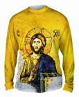 "Yizzam - ""Christian Orthodox Jesus Gold Hagi…""-  New Mens Long Sleeve Shirt 1916"