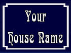 PERSONALISED METAL FRENCH STYLE SIGN ANY HOUSE NAME WALL DOOR ADVERTISING SIGN
