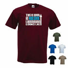 'This is What an Awesome Librarian Looks Like' Library Funny T-shirt Tee