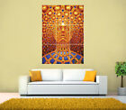 PSYCHEDELIC TRIPPY, Meditation GIANT Print Poster, Various sizes from A3, A4