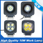 10W CREE LED Work Driving Fog Light Spot/Flood Lamp Car Jeep Boat Off-road SUV
