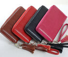 1PC in Bark Pattern Tassel Lady Women Zipper Long Wallet Checkbook Bag Purse