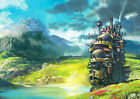 Howl's Moving Castle BIG Print Poster,Various sizes from A3 up to 33'' x 23.2''