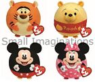 Disney Mickey Minnie Tigger Pooh Medium 7 inch Beanie Ballz - TY Soft Toy Ball