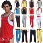 Men's Quick-dry Mesh Sport Jersey Set Or Vest Top Tank Or Pants Trousers Hot