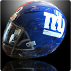 Custom Painted New York Giants Helmet 3 Helmet options Z1R, Icon, Shoei