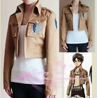 Attack on Titan Jacket Recon Survey Corps Cosplay Costume Embroidery Jacket