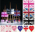 Vintage Style Union Jack British Flag Canvas Wall Art Pictures