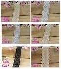 [wamami]38mm-43mm Lace Trim Vintage Style Floral Fabric Cotton DIY Accessory