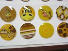 8 Pcs Home Button Sticker For Apple iPhone 5 5c 4 4S iPad mini 1 2 3 Air