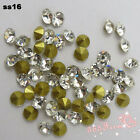 144pcs SS2-SS25 Crystal Point Back Crystal Glass Rhinestones China A+ Grade