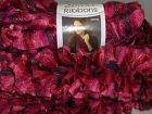Red Heart Boutique Ribbons Ruffled Scarf Yarn    You pick from 8 colors