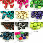 240pcs Loose Cube Wood Wooden Spacer Beads Charms Jewelry Findings 6x6mm