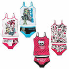 Monster High ★ Unterwäsche Garnitur ★ 128 140 152 164 ★ Set 2 tlg. ★ Hemd + Slip