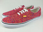 VANS. AUTHENTIC Men's ERA  Casual Shoes. RED. Men's US 9, 9.5, 10, 10.5 & 11.