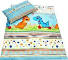 2 Piece Bedding Set Pillowcase+Duvet Cover for Baby Toddler to fit Cot/Cot Bed <br/> 90x120cm, 100x135cm, IKEA 110x125cm, 120x150cm