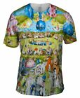 "Yizzam - Bosch - ""The Garden of Earthly Delights, 05""-  New Men Unisex Tee Shirt"