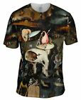 "Yizzam - Bosch - ""The Garden of Earthly Delights, 06""-  New Men Unisex Tee Shirt"