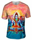 "Yizzam - Indian Art - ""The Great Shiva""-  New Men Unisex Tee Shirt"