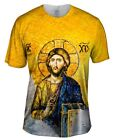 "Yizzam - ""Christian Orthodox Jesus Gold Hagia Sophia""-  New Men Unisex Tee Shirt"