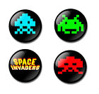SPACE INVADERS 25mm button pin badge 70's 80's retro arcade game