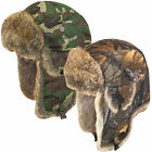 Fold Down Ear Flying Hat Ideal for Outdoors, Hunting, Fishing and Cold Weather
