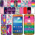For Samsung Galaxy S4 Active I537 I9295 Art Design Vinyl Sticker Body Skin Cover