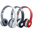 Wireless Cordless Foldable Headphones Headset With Mic for PC TV DVD CD MP3 MP4