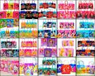 12 Birthday Party Favor Bags Candy Treat Favors Gifts Plastic Frozen Dori Minnie