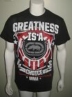 NWT ECKO UNLTD MMA GREATNESS MEN T SHIRT CHOOSE YOUR SIZE BLACK FREE US SHIPPING