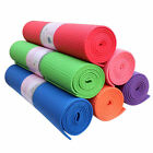 Yoga Exercise Fitness Workout Mat Physio Pilates Festivals Camping Non Slip 3mm