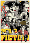 Pulp Fiction comics Poster, various sizes